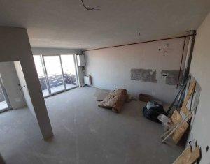 Apartament cu 3 camere in bloc nou, cartier Bulgaria, zona Campina