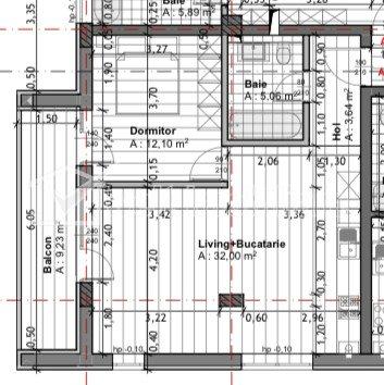 Bloc nou! Apartament 2 camere 53 mp, Grigorescu