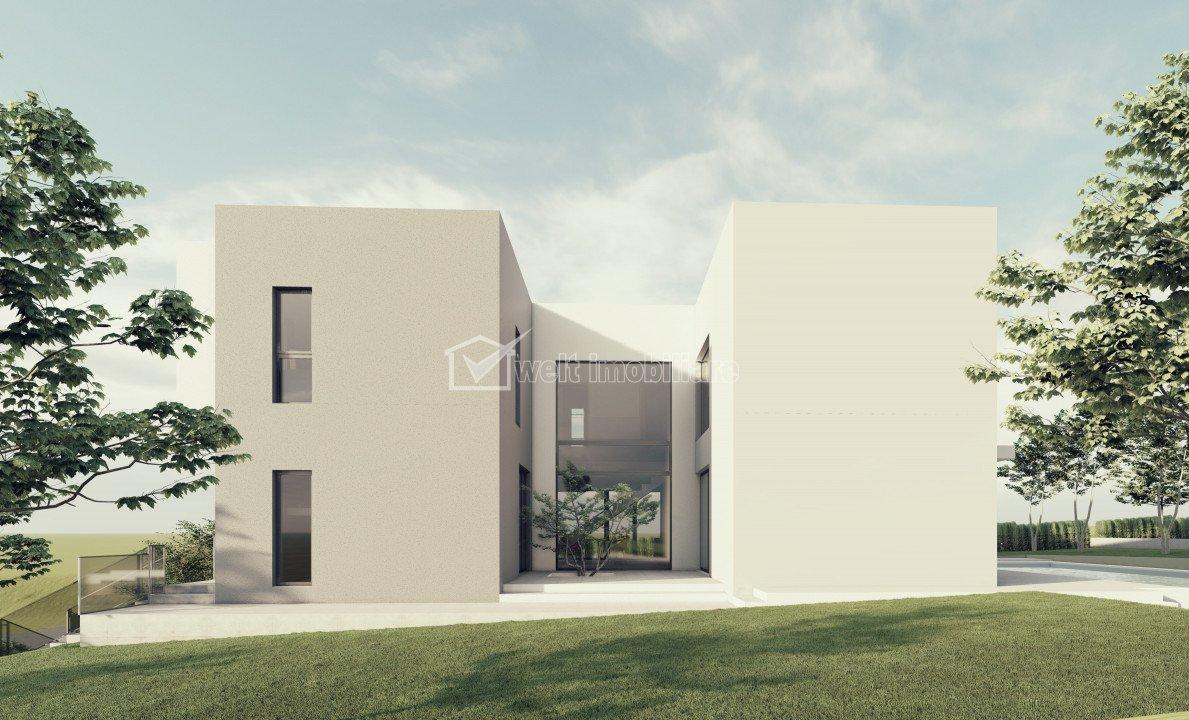 Vanzare casa individuala premium, Wonderland, 278 mp, teren 926 mp, panorama