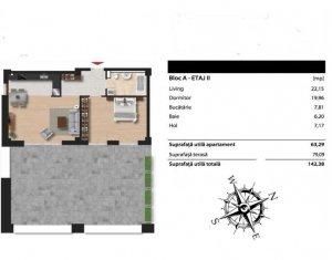 Apartament spatios intr-un complex rezidential modern, zona Iulis Mall
