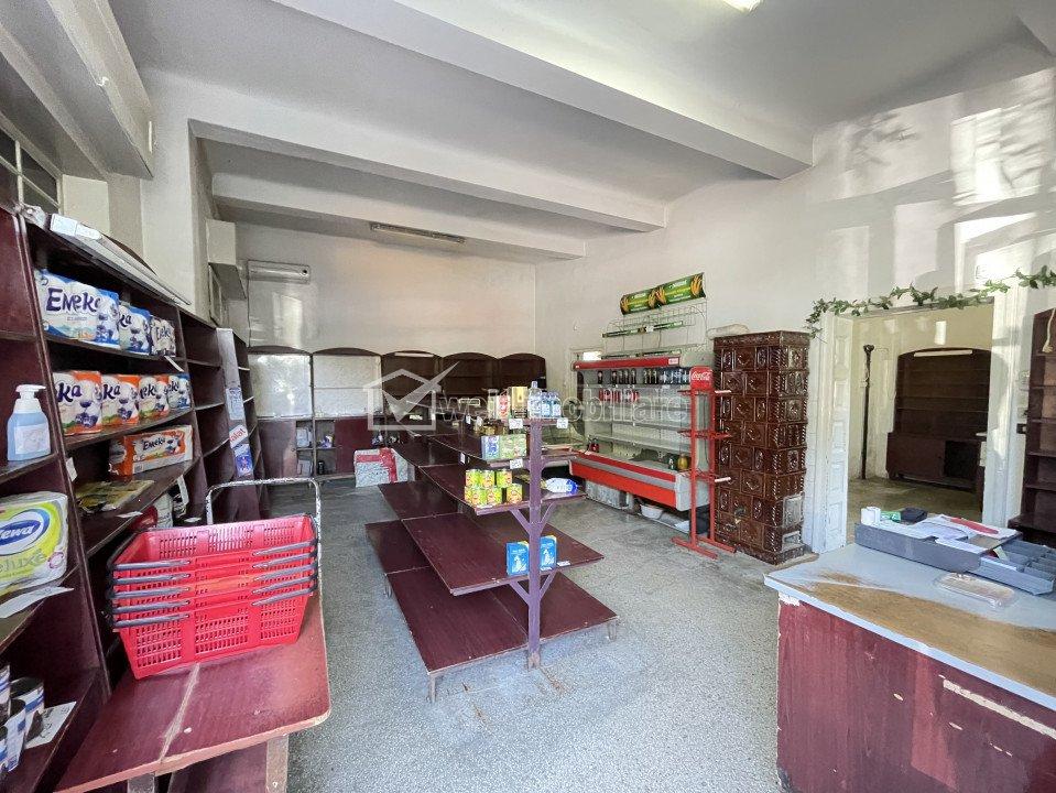 Spatiu la parter de casa in Grigorescu, Piata 14 Iulie, 110 mp, teren 102 mp