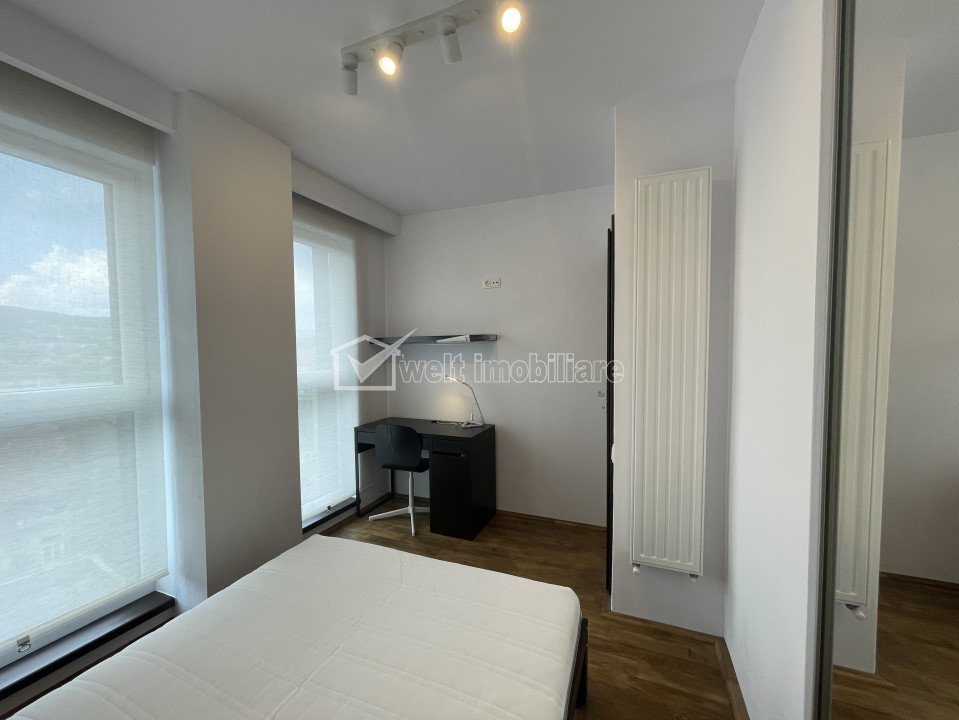 Apartament cu 2 camere, Centru, zona Horea, bloc nou, terasa 16 mp, garaj