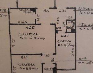 Apartament 4 camere semidecomandat, parter, Manastur