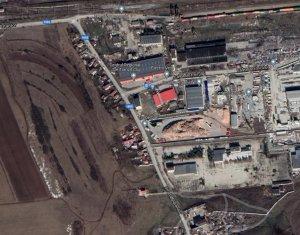 Teren industrial 6500mp, front 70m, str. Platanilor, zona industriala