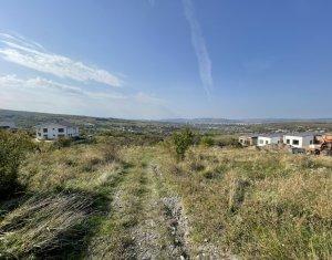 Teren Borhanci, 1000 mp, front de 32 ml, PUZ pentru 2 case individuale, panorama