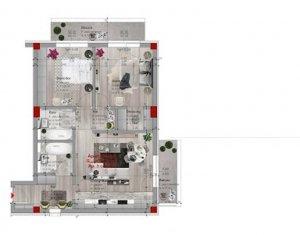 Proiect nou! Apartament 3 camere, Borhanci, Cluj-Napoca