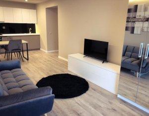 Apartament cu 3 camere in Centru, bloc nou, zona NTT Data