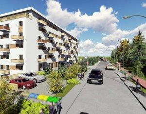 Vanzare apartament cu 2 camere + balcon/terasa, zona Vivo, Floresti