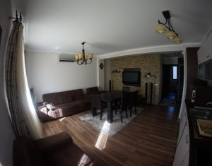 Apartment cu 2 camere de inchiriat, 50 mp, parter inalt, Marasti