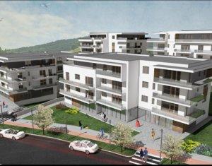 Apartamente 3 camere, bloc tip vila, terasa 28 mp, la 3 minute de Gheorgheni