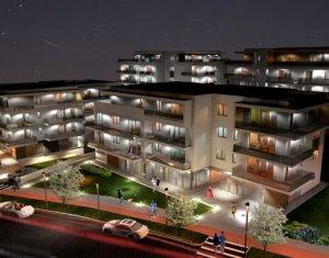 Penthouse 3 camere, imobil de lux, terasa de 75 mp, la 3 minute de Gheorgheni