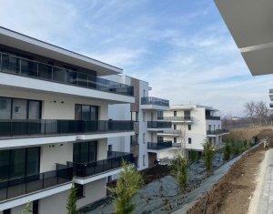Apartament 2 camere, etaj retras, terasa de 13,36 mp, la 3 minute de Gheorgheni