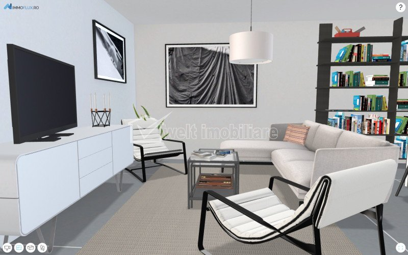 Apartament 2 camere cu panorama superba, la 3 minute de Gheorgheni