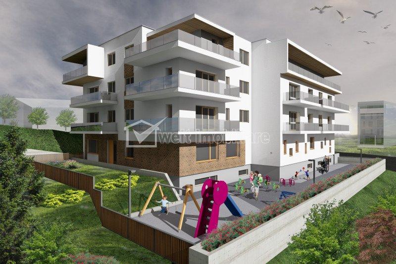 Vanzare penthouse, la 3 minute de Gheorgheni, terasa 47 mp, zona Borhanci