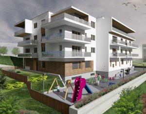 Vanzare apartament 3 camere, Borhanci, terasa 47 mp, la 3 minute de Gheorgheni