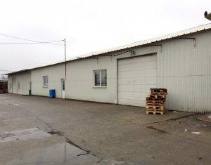 Spatiu industrial 7500mp, hale existente 1700mp, Someseni zona Aeroport