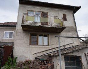 Vanzare casa veche in Dambu Rotund, teren 780 mp, front 14 m