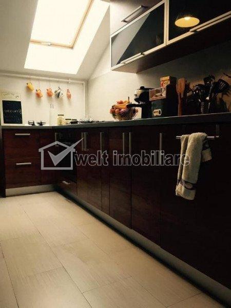 Vanzare apartament 2 camere, 52mp, mansarda, Floresti, zona Terra