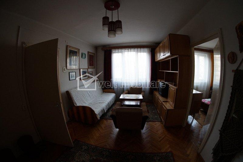 Vanzare apartament 2 camere semidecomandate, zona garii