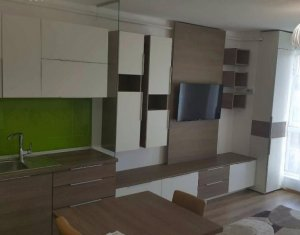 Apartment de inchriat cu 1 camera, 37 mp, bloc nou, Andrei Muresanu