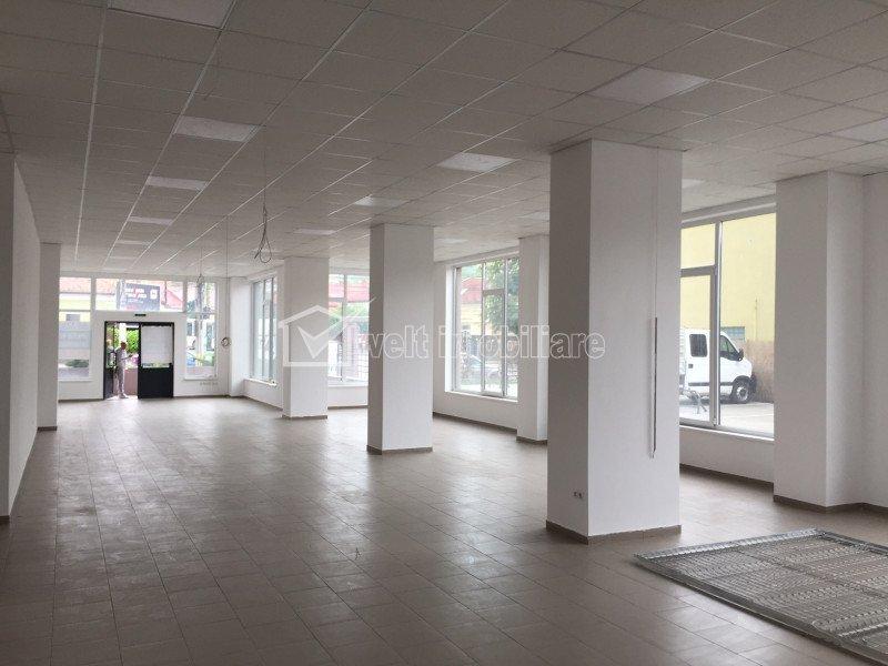 Spatiu comercial 201mp open space, vitrina mare, vad bun, zona Autogara Beta
