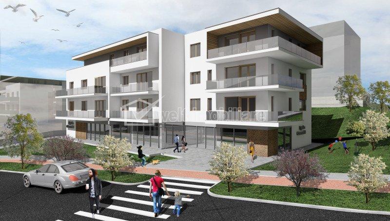 Apartamente 2 camere in bloc tip vila, Borhanci, panorama frumoasa