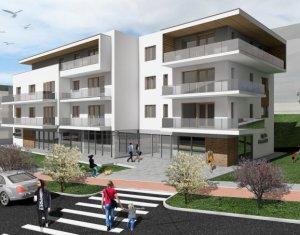 Apartament 3 camere, bloc tip vila cu terasa de 28mp, la 3 minute de Gheorgheni