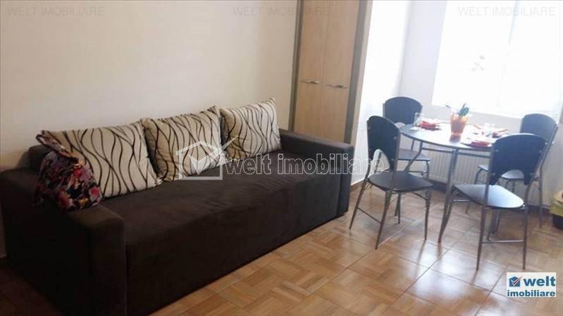 Inchiriere apartament 3 camere, semidecomandat, zona BRD Marasti
