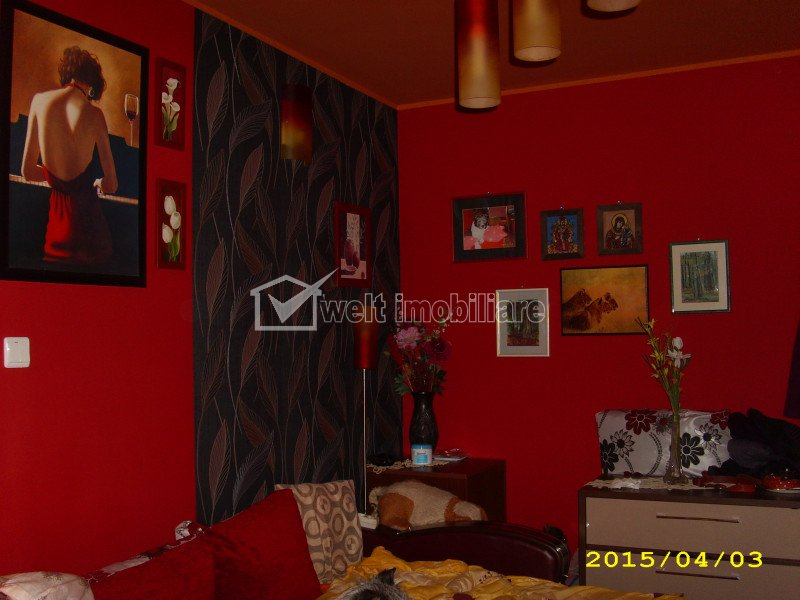 Vanzare apartament cu 1 camera, balcon, bloc nou 2014, zona Porii, Floresti