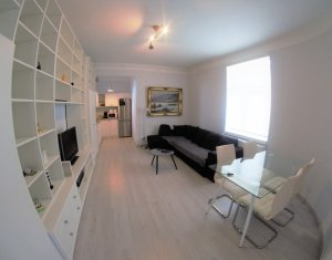 Inchiriere apartament superb, ultracentral, toate dotarile
