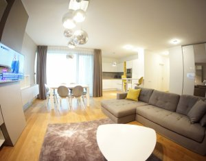 Inchiriere Apartament de lux cu 3 camere in Riviera Luxury Residence