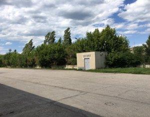 Vanzare teren industrial Baciu 12.207mp, hala 4500mp, birouri, curte betonata