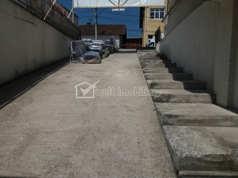 Spatiu comercial 600mp, catering, depozitare, productie zona Clujana