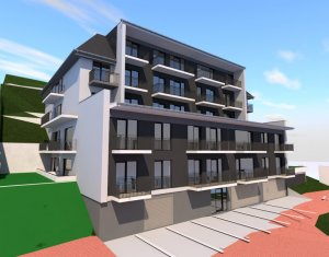 Vanzare apartament nou cu 2 camere, 53mp, Floresti, zona Vivo, panorama