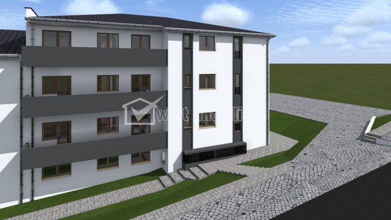 Apartament de vanzare, 2 camere, 56 mp, Apahida