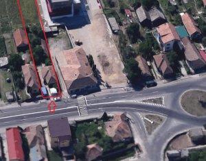 Teren intravilan 2170 mp, zona centrala Floresti, deschidere la drumul principal