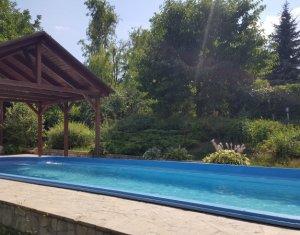 Casa de vanzare in Andrei Muresanu, finisata, teren 800 mp, piscina, panorama