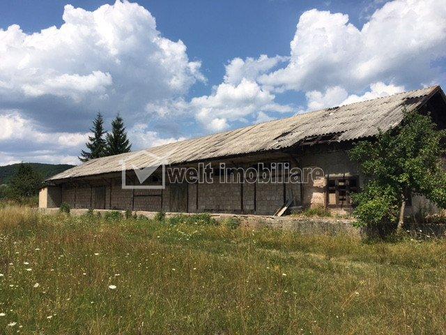 Teren industrial 17823mp, 2 cai ferate, platforme, in Aghiresu zona Knauf