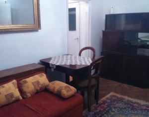 De inchiriat apartament cu 3 camere, semidecomandat, in Manastur