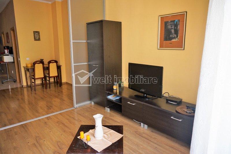 Apartament de inchiriat, 2 camere, 60 mp, etaj intermediar, garaj, Plopilor