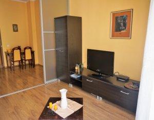Apartament de inchiriat, 2 camere, 60 mp, etaj intermediar, garaj, Plopilor!