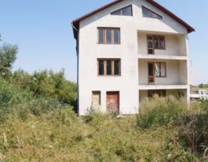 Casa individuala, 10 camere, 450mp utili, 1500mp teren, zona Calea Turzii