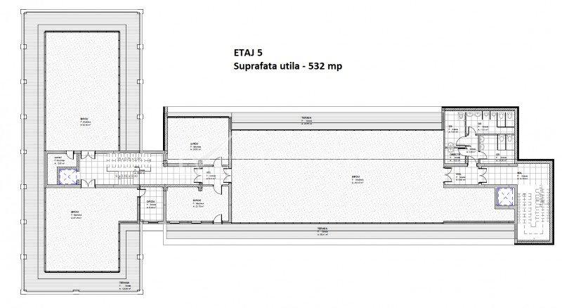 Spatiu de birou 779 mp, Gruia - Taietura Turcului