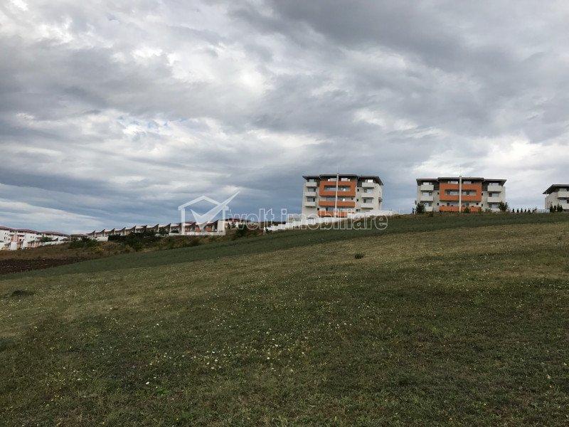 Teren de vanzare in Apahida, zona Omnia, 8700 mp, front de 100 ml la asfalt