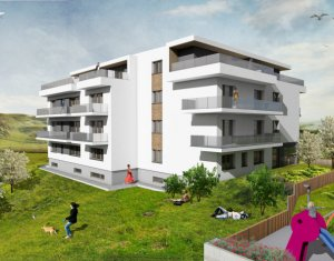 Apartament 3 camere, Borhanci, terase 53 mp, acces facil spre Gheorgheni