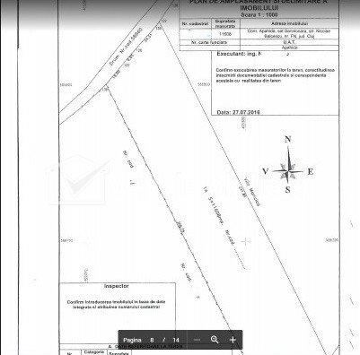 Teren de vanzare, pentru hala in parc industrial, 11.608 mp, Sannicoara, Apahida