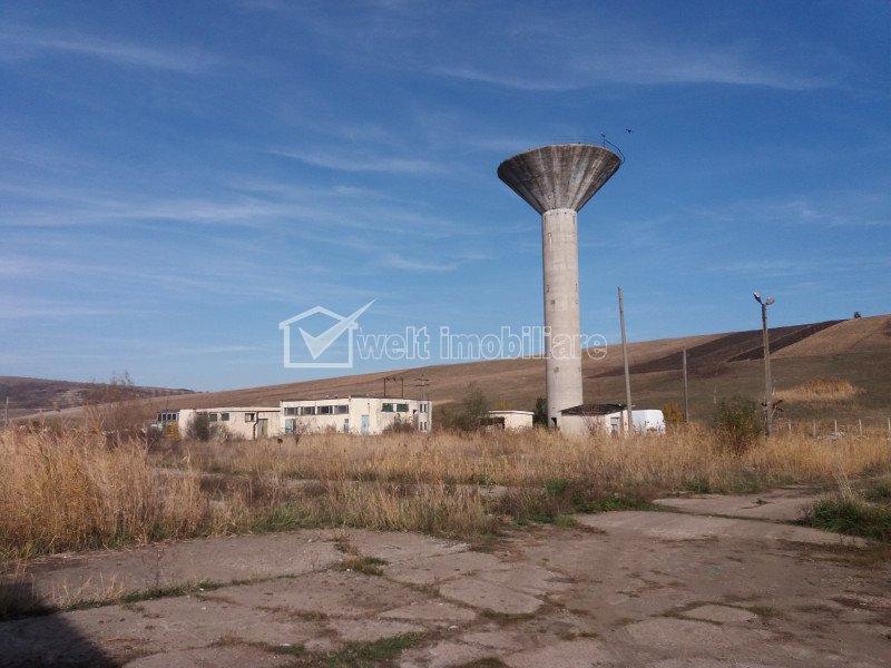 Platforma industriala betonata 4.9ha in Apahida, 3 linii CFR