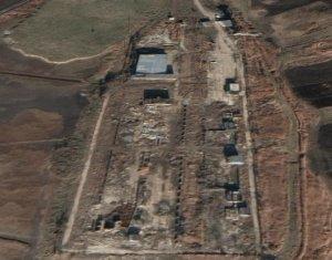 Platforma industriala betonata 4ha in Apahida, 3 linii de cale ferata