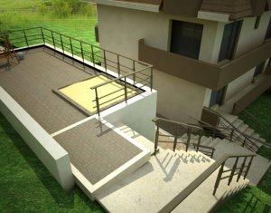 Apartament in vila, 3 camere, etaj 1, in spate la Vivo, Floresti