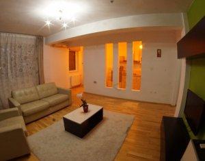 Apartament ultrafinisat si mobilat modern cu garaj subteran in Buna Ziua